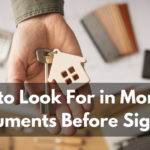 What to Look For in Mortgage Documents Before Signing