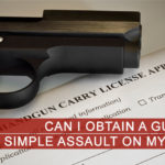 Can I Obtain A Gun Permit With A Simple Assault On My Record? Image