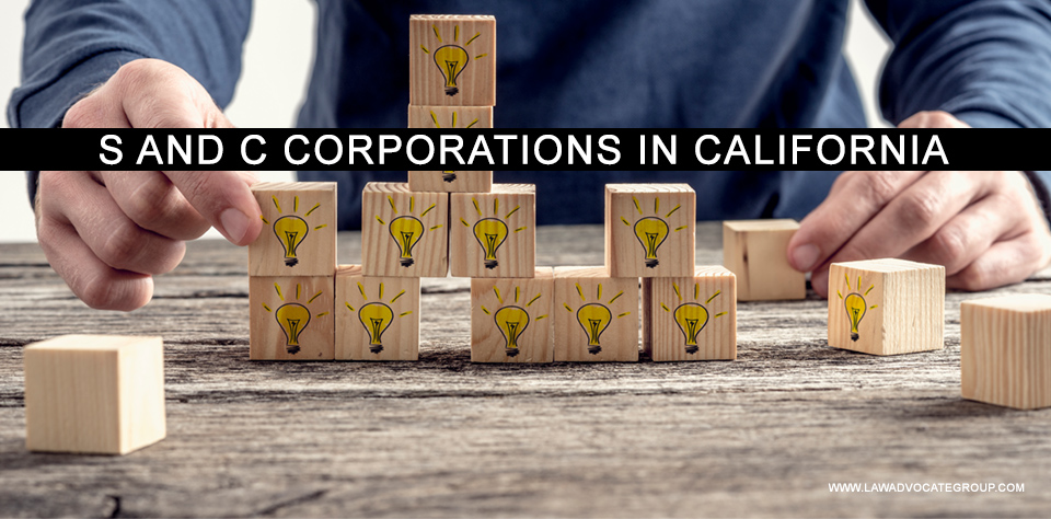 S And C Corporations In California Image