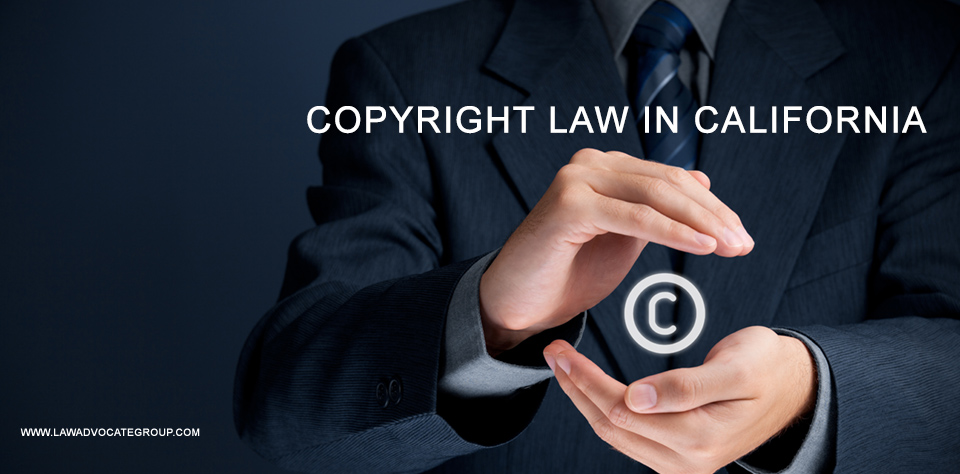 Copyright Law In California Image