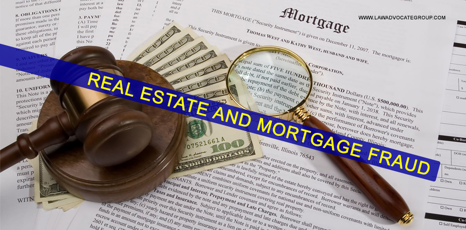 Real Estate And Mortgage Fraud Image