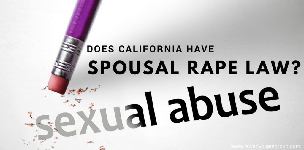 Does California Have Spousal Rape Law?