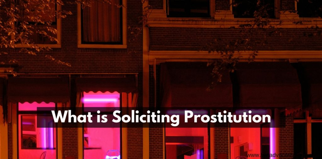 What is Soliciting Prostitution