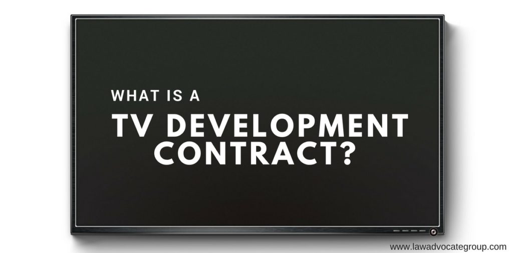 What is a TV Development Contract