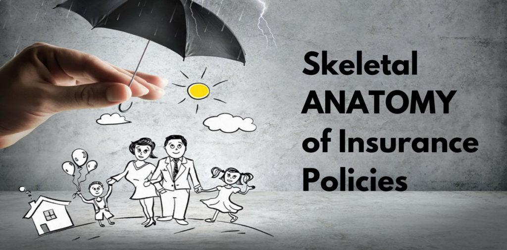 Skeletal ANATOMY of Insurance Policies