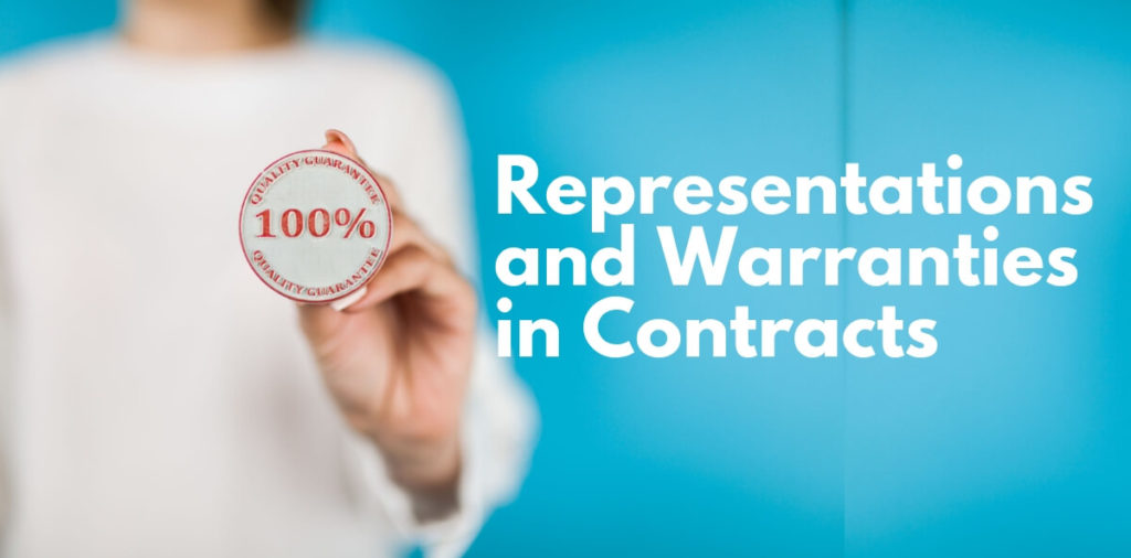 Representations and Warranties in Contracts (1)