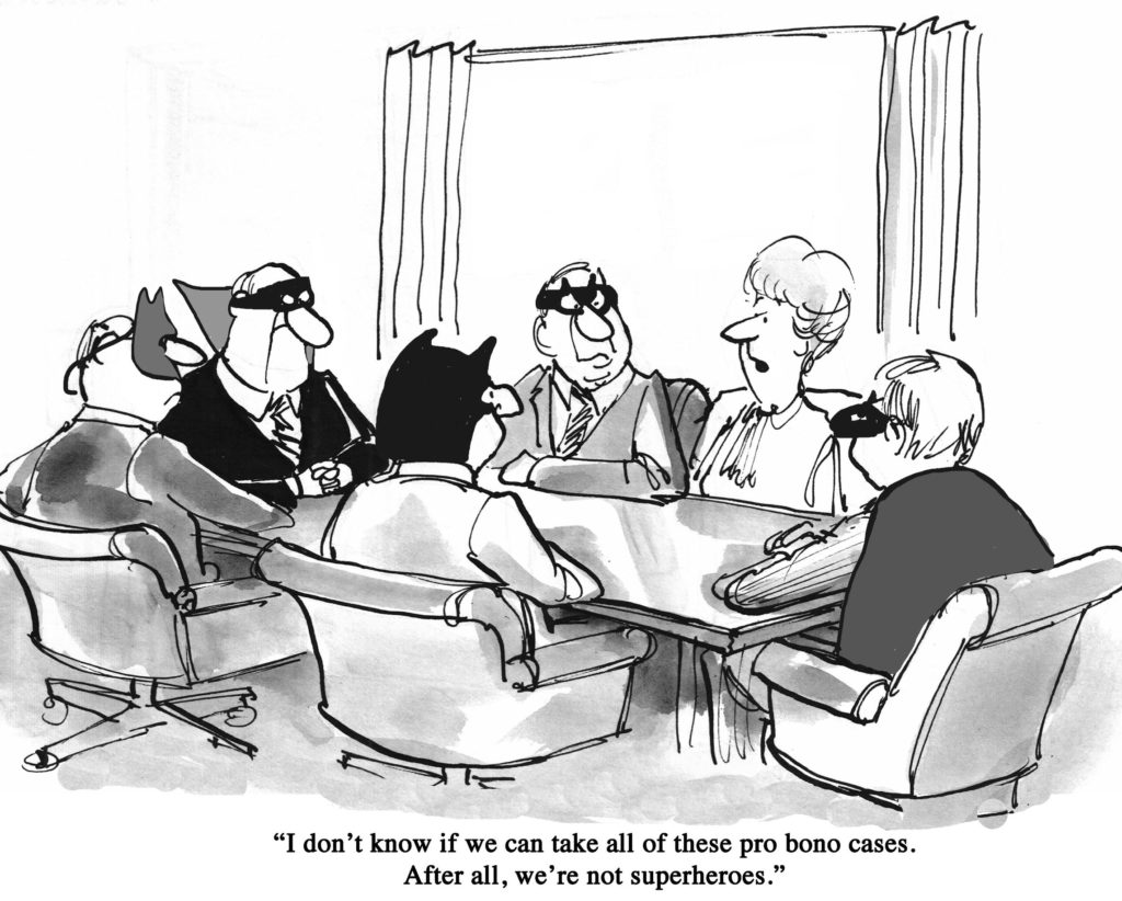 Pro Bono Work as Lawyers
