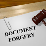 Committing Forgery in California