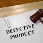 Defective product liability